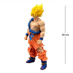 Action Figure Dragon Ball Goku Ssj 42cm