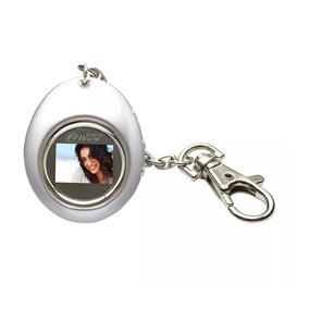 Porta Retratos Digital Relógio Lcd Chaveiro 12490-cl