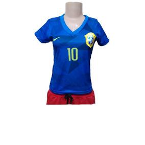 Camisa Seleção Brasileira Marta - Roupas de Futebol no Mercado Livre ... 544adb0164b59