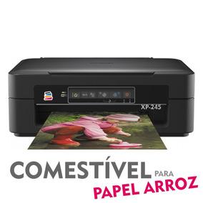 Multifuncional Epson Xp-245 Com Bulk Ink - Tinta Comestível