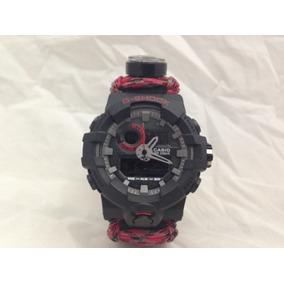 b7ac30510cd7 Pulsera Para Reloj Survival Paracord - Reloj de Pulsera en Mercado ...