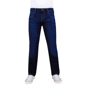 Jeans Breton De Mezclilla Para Caballero. Slim Fit. Bjm014