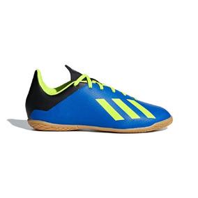 Chuteira Futsal Adidas X161 Preto E Amarelo Limão Lançamento ... 94af0c23003bb