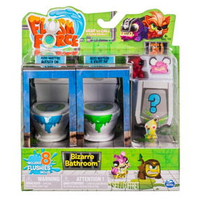 Flush Force Serie 1 Baño Bizarro X8 Figuras Original Tv