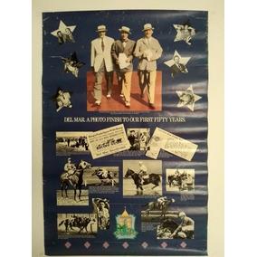 Poster Original 50 Anos Do Del Mar Turf Racing