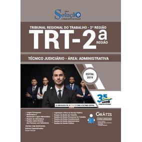 Apostila Trt 2 2019 Técnico Judiciário Administrativa