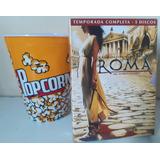 Roma 2ª Temporada Completa + Balde De Pipoca De Brinde