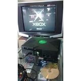 Xbox Clásico, Con Un Control Y 10 Juegos