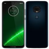 Celular Motorola Moto G7 Plus Tela 6,24 64gb 4gb Ram Indigo