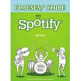 Spotify Membresia 6 Meses Chile Codigo Digital Gift Card