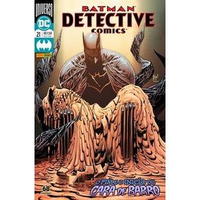 Hq Batman Detective Comics Nº 21 Ed Dez/18 - Cara De Barro