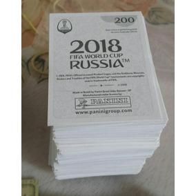 Figurinhas Copa 2018 Russia Avulsas Novas Retiradas Envelope