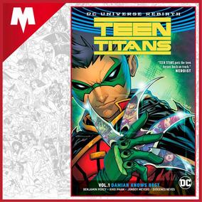 Teen Titans Vol 1 Rebirth Dc Comic Inglés Nuevo