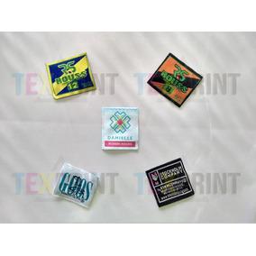 1000 Etiquetas Tejidas / 1.5 Cm X 6 Cm / Cortadas