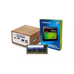 Computadora Pc Mini Intel Dual Core Ssd 480gb 4gb Hdmi W10