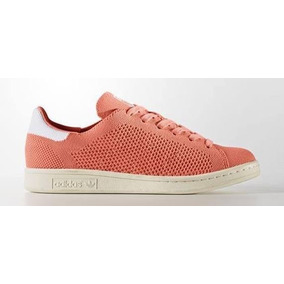 Tenis adidas Stan Smith 100% Originales D Mujer Color Coral