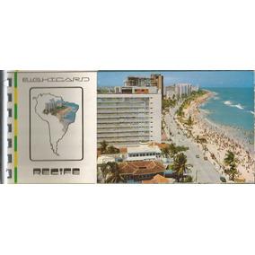 Livreto Com 8 Cartões Postais Recife Editora Edicard