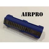 Pistão Airsoft 14 Dentes De Aço Gearbox V2 V3