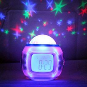 Reloj Alarma Music And Starry Sky Calendar Clock With Date