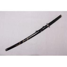 Espada Katana Samurai Dragão 100 Suportenunchaco Entalhado