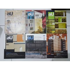 Lote 24 Revistas Au -arquitetura E Urbanismo 2012/2013/2014