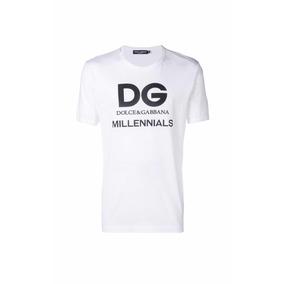 Playera Dolce & Gabbana Millennials Blanca