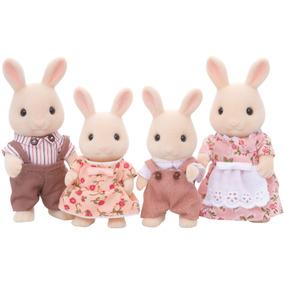 Familia De Conejos De Juguete - Sylvanian Families