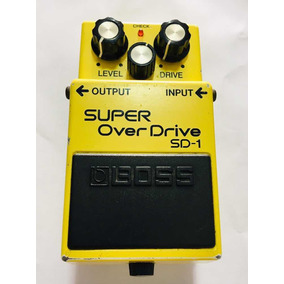 Pedal Boss Over Drive Sd1