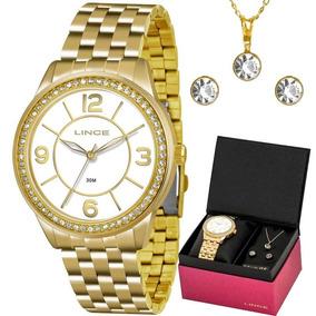 a0c1c6d18ce Relogio Feminino Lince Com Corrente - Relógios no Mercado Livre Brasil