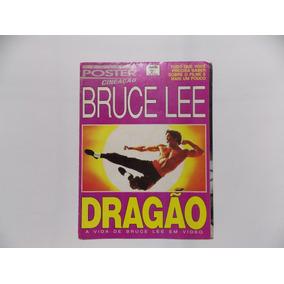 Bruce Lee Revista Poster Cineação Dragão