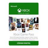 Xbox Game Pass 1 Mes Región Libre Código Trial