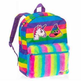 Unicornio Arcoiris Bolsa Mochila Backpack Nueva