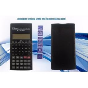 Calculadora Cientifica Kenko 299 Funciones