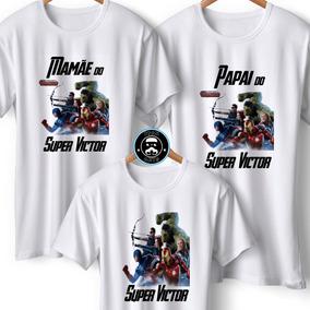 Camisetas Personalizadas Vingadores Arte Artesanato - Calçados ... f5f2149c13ff5