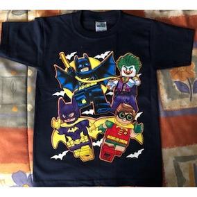Playera Batman Lego Niño Talla 8/10