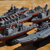 Coleccion Flotilla Naval A Escala Porta Aviones Aegis Destro