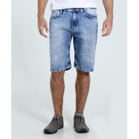 Bermuda Short Jeans Masculino Barato Promoção Do 34 Ao 56