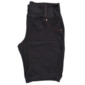 Kit Com 5 Bermudas Feminina Cottom Plus Size 44 Ao 52