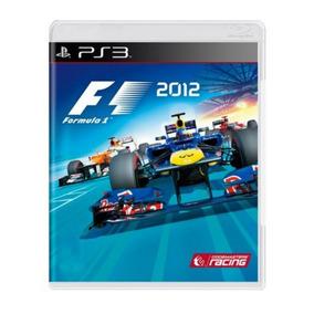 Jogo Formula 1 2012 Ps3 Original Midia Fisica