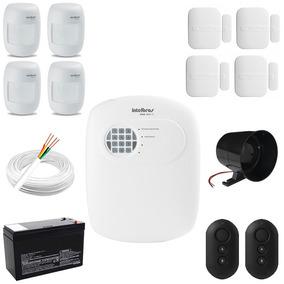 Kit Alarme Central Intelbras Segurança Residencial Comercial