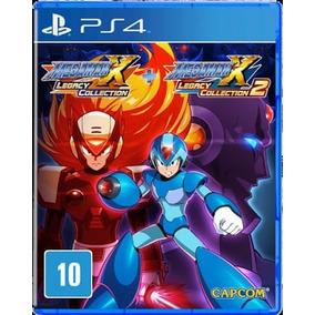 Megaman X Collection 1+2 Ps4 Original 2 Por 10 Dias