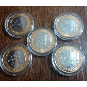 Moedas Comemorativas Dos 50 Anos Do Banco Central