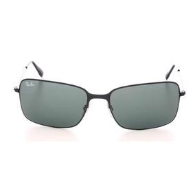 Óculos De Sol Ray-ban Highstreet Rb 3514 Verde E Preto 58 3509479bf0