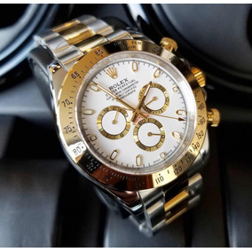 7f5216ae47b Relógio Rolex Daytona Fundo Branco Vidro Safira Belissimo - Joias e ...