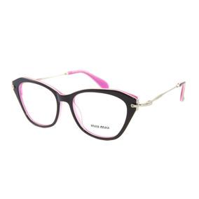 Armação Oculos Grau Feminino Mu06p Grife Famosa Premium · 4 cores. R  120 7e21ad3977
