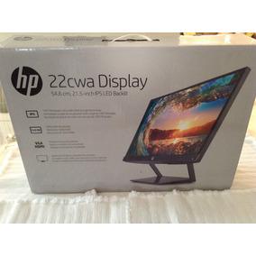 Monitor Hp 22cwa Display - Poco Uso