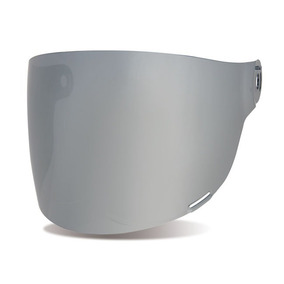 Visor Bullit Silver Iridium Bell