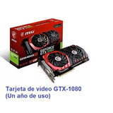 Tarjeta De Video Asus-nvidia Geforce Gtx 1080 (usado)