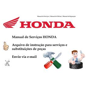 Manual De Serviço Honda Cb300r 2009 Completo