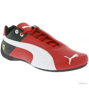 Tenis Cavallino Ferrari Preto - Tênis Couro no Mercado Livre Brasil fcf329ef0b385